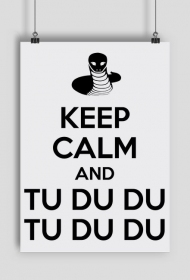 """KEEP CALM"" - plakat"