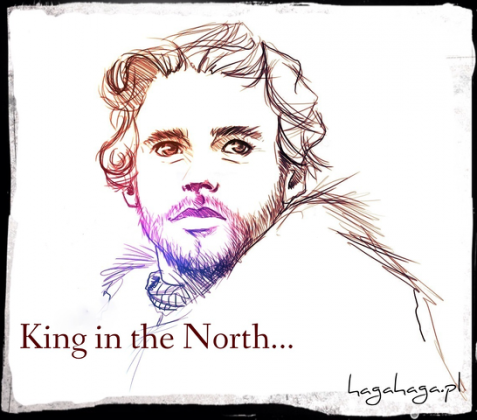 king in the north gra o tron bluza