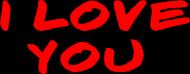 HIT! Poduszka I Love You