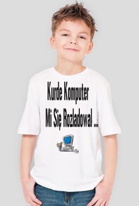 Koszulka Komputer się rozładował