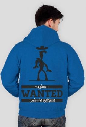 Bluza męska z kapturem (rozpinana) - SNOW WANTED (różne kolory!)