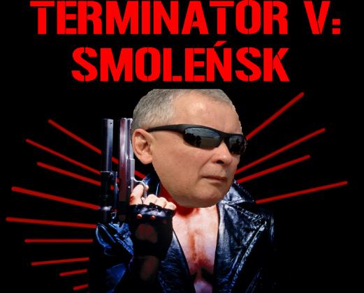 Terminator Kaczyński - koszulka czarna