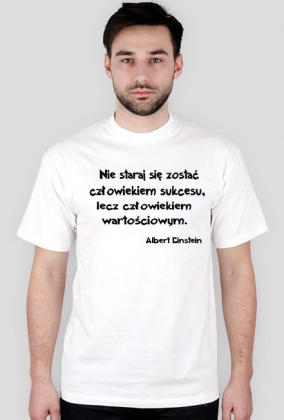 Koszulka - Albert Einstein męska