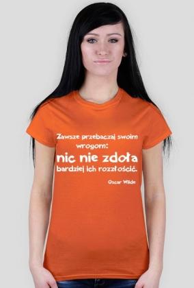 Koszulka - Oscar Wilde damska