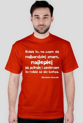 Koszulka - Abraham Lincoln męska