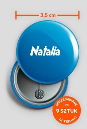 Przypinka Natalia