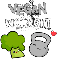 Vegan Workout - kettlebell i brokułek