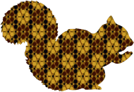 Brunatna wiewióra - męska bluza mp3