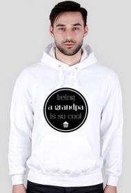Cool grandpa - bluza z kapturem