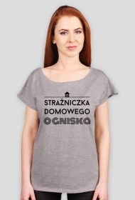 Strażniczka Ogniska - t-shirt oversize