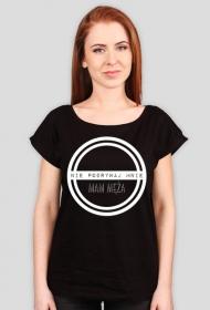 Nie podrywaj mnie - t-shirt oversize