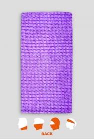 Sweter fioletowy - komin
