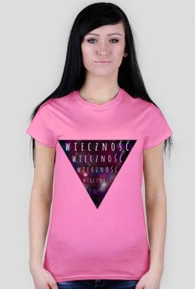 Wieczność - damski t-shirt