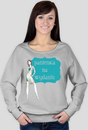 Panienka na wydaniu - damska bluza