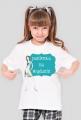 Panienka na wydaniu - dziewczęcy t-shirt