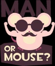 Kubek - Człowiek czy mysz? - chcetomiec.cupsell.pl - kubki na prezent, śmieszne kubki