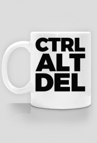Kubek 2 - CTRL ALT DEL - dziwneumniedziala.com - kubki dla programisty i grafika