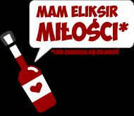 Mam eliksir miłości - i nie zawaham się go urzyć - Walentynki - Koszulki nietypowe chcetomiec.cupsell.pl