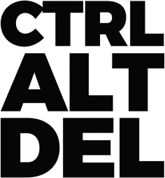 Koszulka - CTRL ALT DEL - dziwneumniedziala.com - koszulki dla grafika i programisty, informatyka