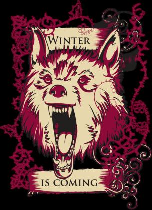 Zima nadchodzi - Kubek - nietypowe i śmieszne kubki dla każdego
