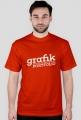 Koszulka - Grafik - pracuję za projekty do portfolio / biały - dziwneumniedziala.com - koszulki dla grafika i programisty, informatyka