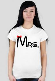 Walentynki - damska - MRs. - koszulka