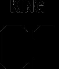 King01 biała koszulka slim