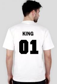 King01 biała koszulka