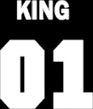 King01 czarna koszulka