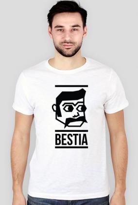Piękna i Bestia - koszulki dla par - męska (slim)