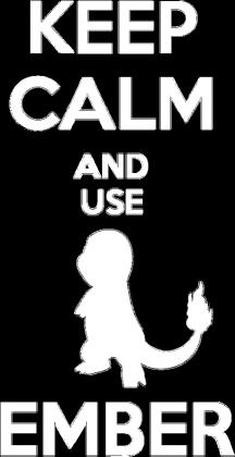 Pokemon Keep Calm - Charmander
