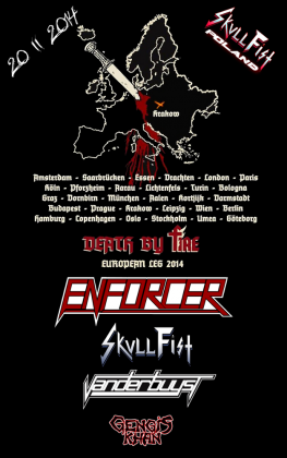 Skull Fist Poland - Kraków 20 II 2014
