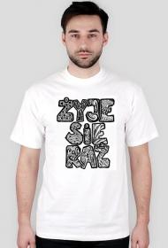 Koszulka męska z autorską grafiką