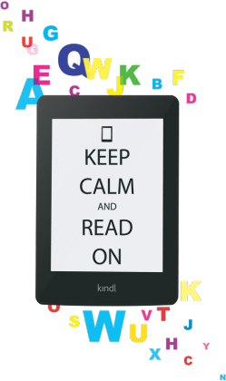 Keep calm and read on (wszystkie kolory)