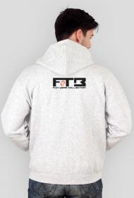 """Lekka rozpinana bluza z kapturem """"Radio FTB On Tour"""" - różne wersje kolorystyczne"""