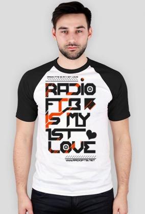 "Koszulka baseball męska ""Radio FTB Love"" - dwie wersje kolorystyczne"