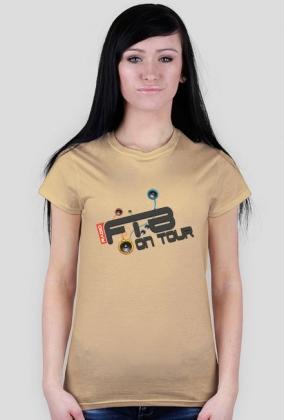 """Koszulka damska """"Radio FTB On Tour"""" - w różnych wersjach kolorystycznych"""