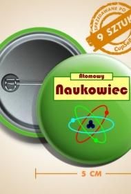 Pin Atomowy naukowiec