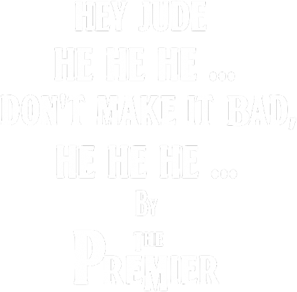 The Premier, The Beatles - Hey Jude - męska