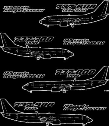 Boeing 737 geneza - czarna