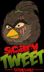 Werewolf - Scary Tweet (przypinki)