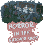 ZOMBIE Horror in the butcher shop (M)