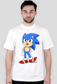 koszulka ze Sonic'iem