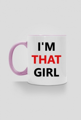 Kubek - I'm That Girl (kolory)