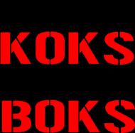 "Koszulka damska z dekoltem ""Dziwki Koks, Tajski Boks"""