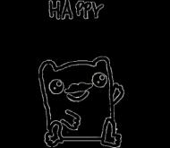 Happy Moustache Frog Dziecięca Chłopięca