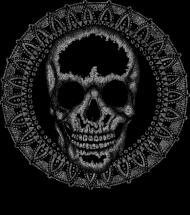 Black Art Skull Cup