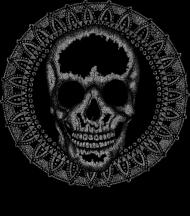 Black Art Skull Bag