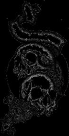 Black Art Skulls Cup