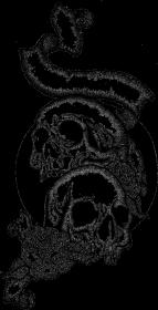Black Art Skulls